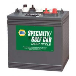 Napa Part 8144 6 Volt Deep Cycle Battery