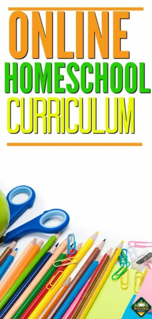 Online Homeschool curriculum