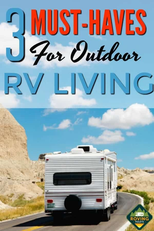 3 Must-haves for Outdoor Living