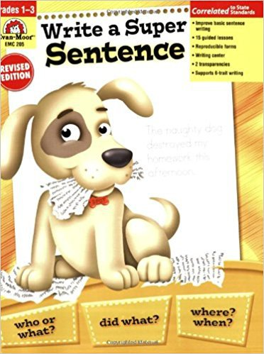Super Sentence Workbook