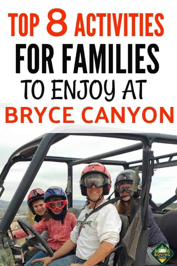 One of our favorite activities to do at Bryce Canyon National Park was riding an ATV with the kids, it was phenomenal.