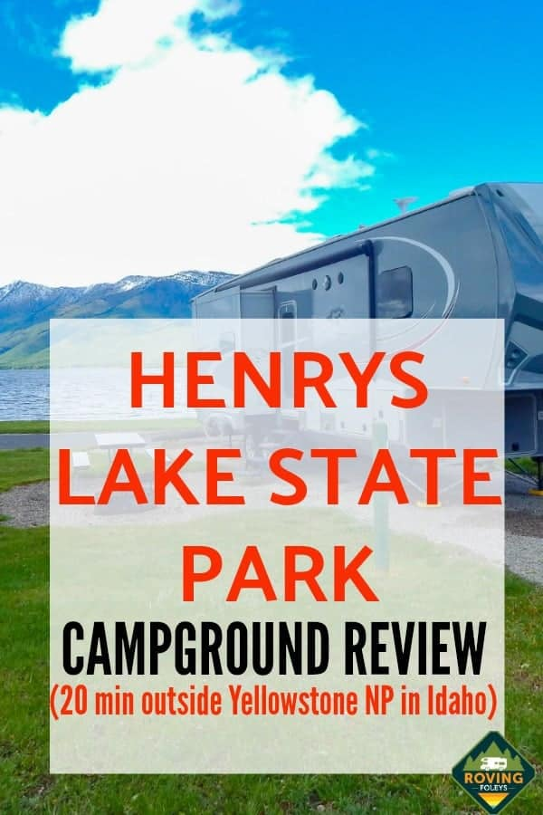 This state park is an RVers dream, it's located close to Yellowstone National Park and the views are stunning!