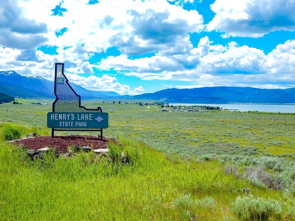 henry's lake state park entrance