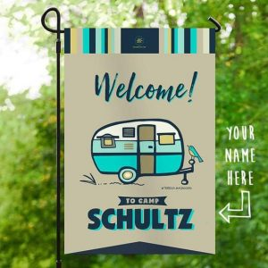 A personalized camping sign to put outside your RV