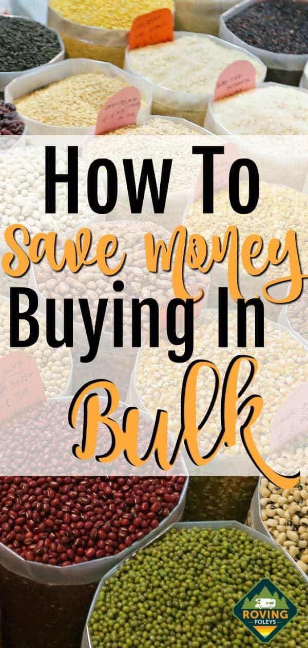 How To Save Money Buying In Bulk