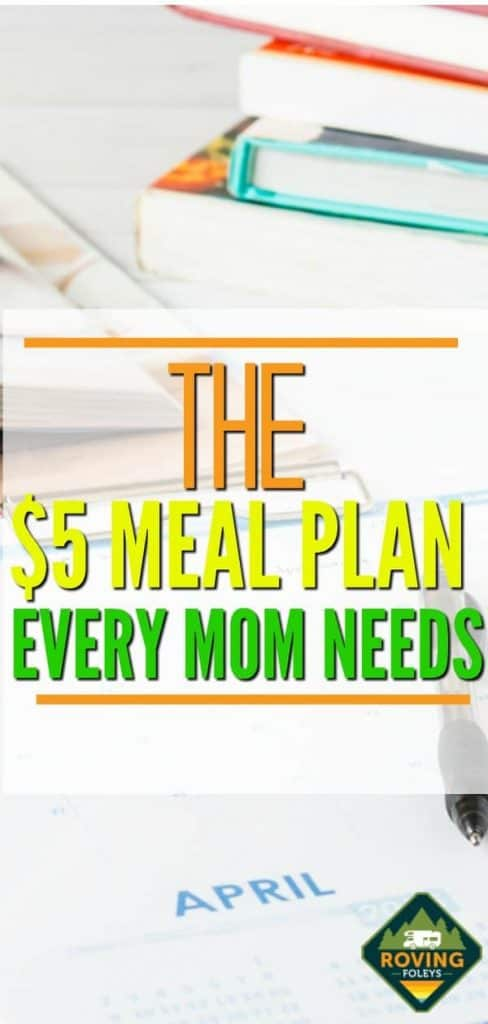 How to Save Money With The $5 Meal Plan