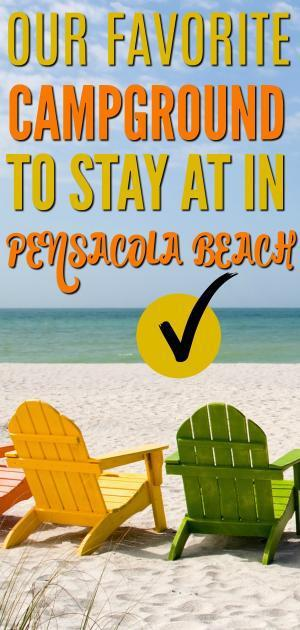 Our Favorite Campground To Stay At In Pensacola Beach Floridaa Beach RV Resort