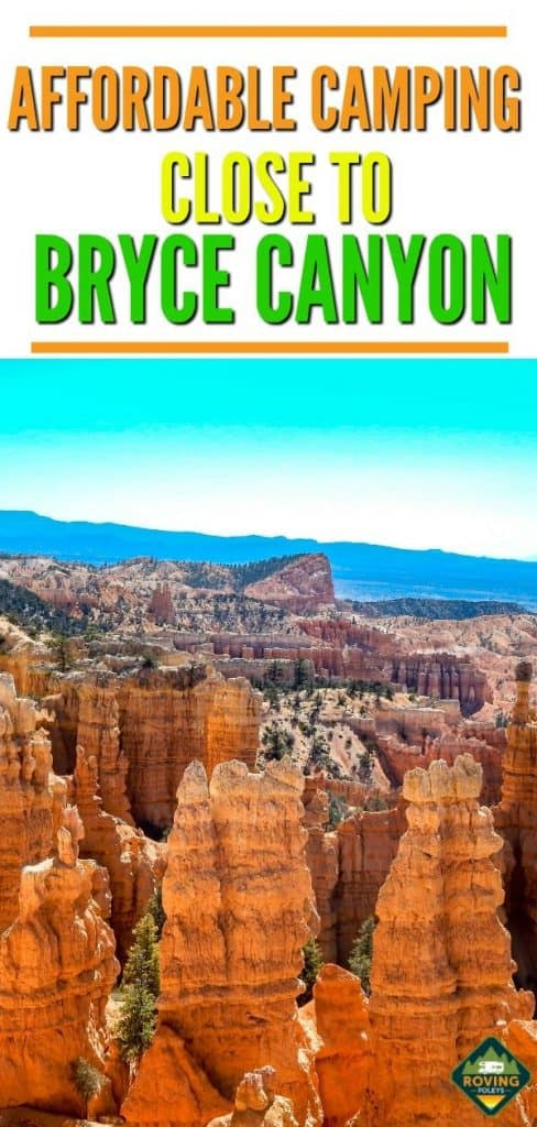 Affordable Camping Close to Bryce Canyon