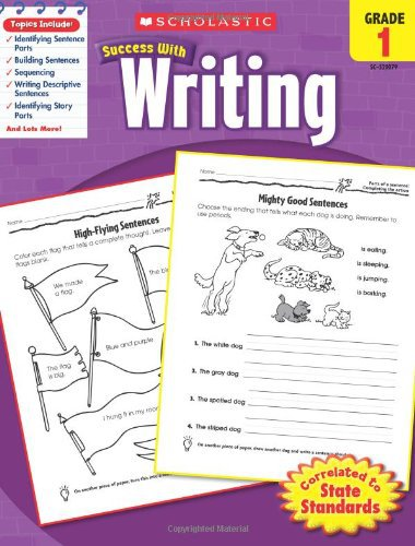 Scholastic Writing Workbook Grade 1