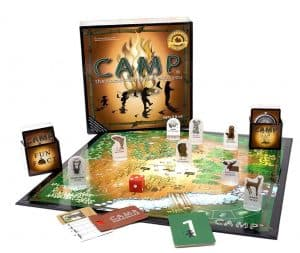 Camp Board Game For The Whole Family