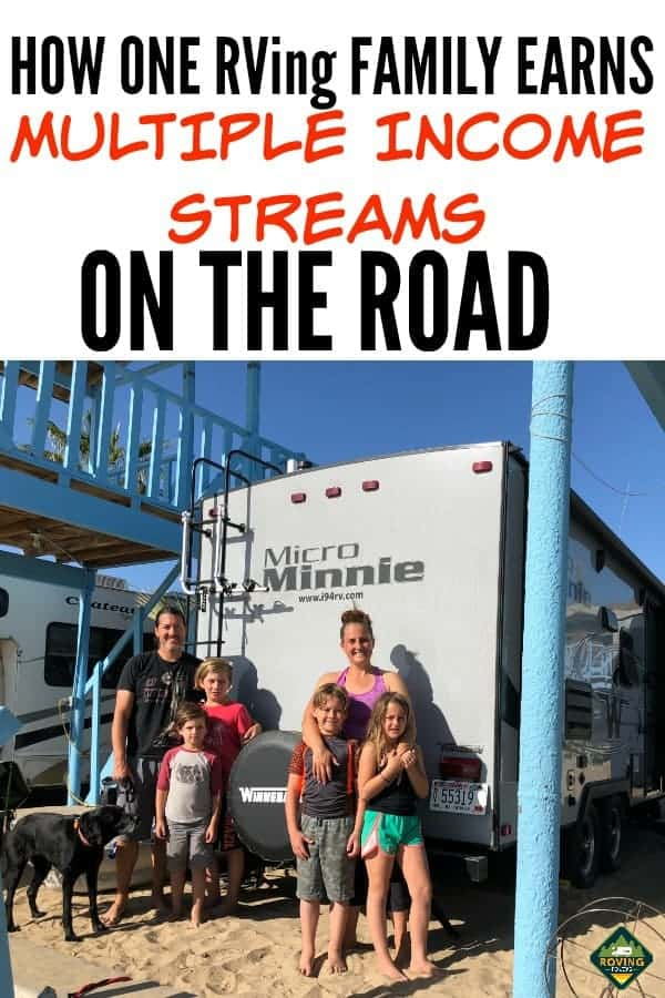 Find out how these FT Family bloggers are able to RV travel around the country while earning multiple incomes online. #RVlifestyle #RVliving  #earnmoneyonline