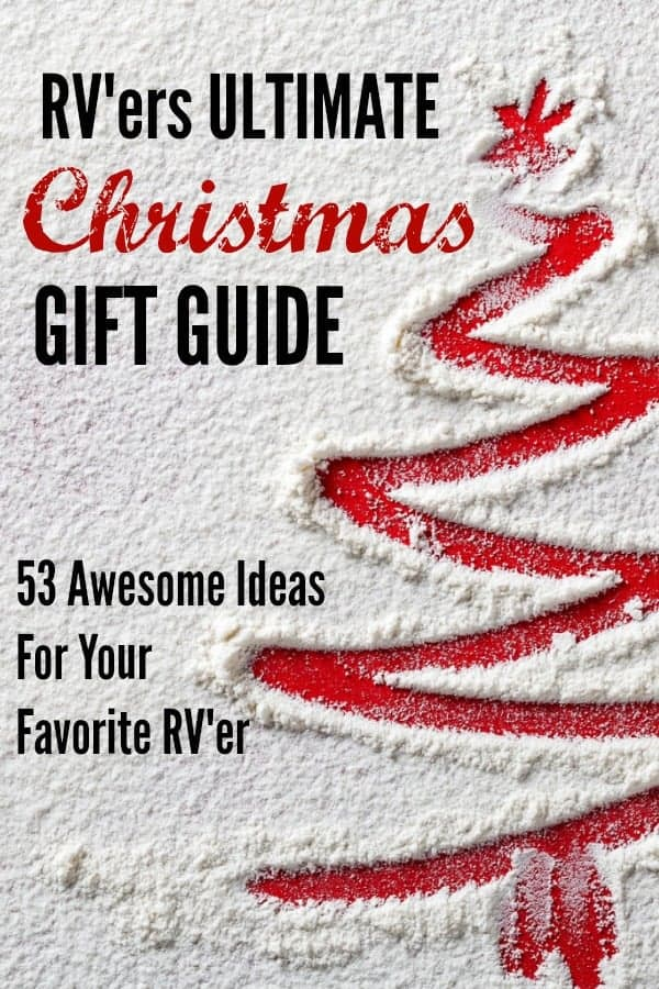 53 Awesome Gift Ideas for the RVer in your life