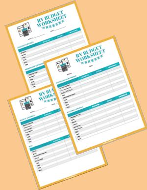 budget tracker printable