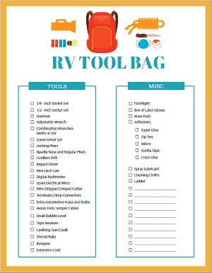 photograph regarding Printable Rv Setup Checklist identify Printables Retail outlet The Roving Foleys