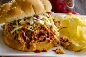 Crockpot BBQ Pulled Pork Sandwich Recipe You Can't Resist