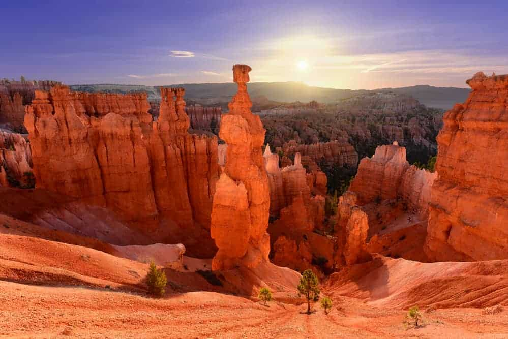 Bryce Canyon National Park Packing