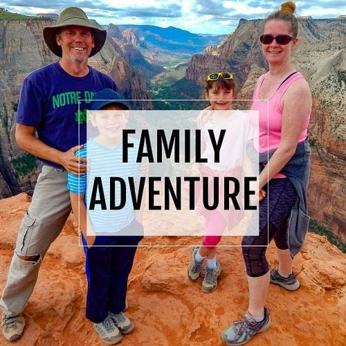 family adventure button