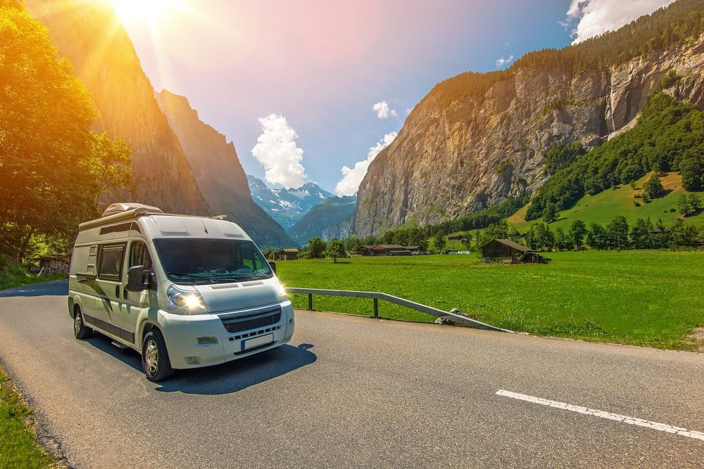 How much would it cost to rent a campervan and drive through the mountains