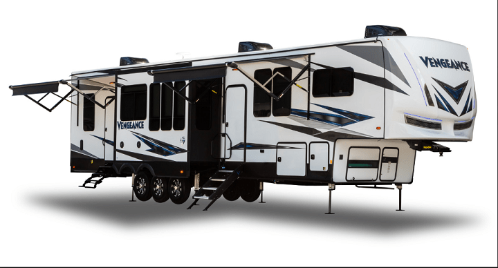 2020 Forest River Vengeance 5th wheel