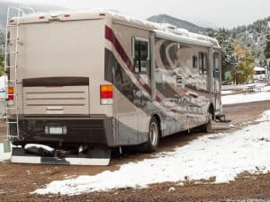 Can you live in an RV in the winter
