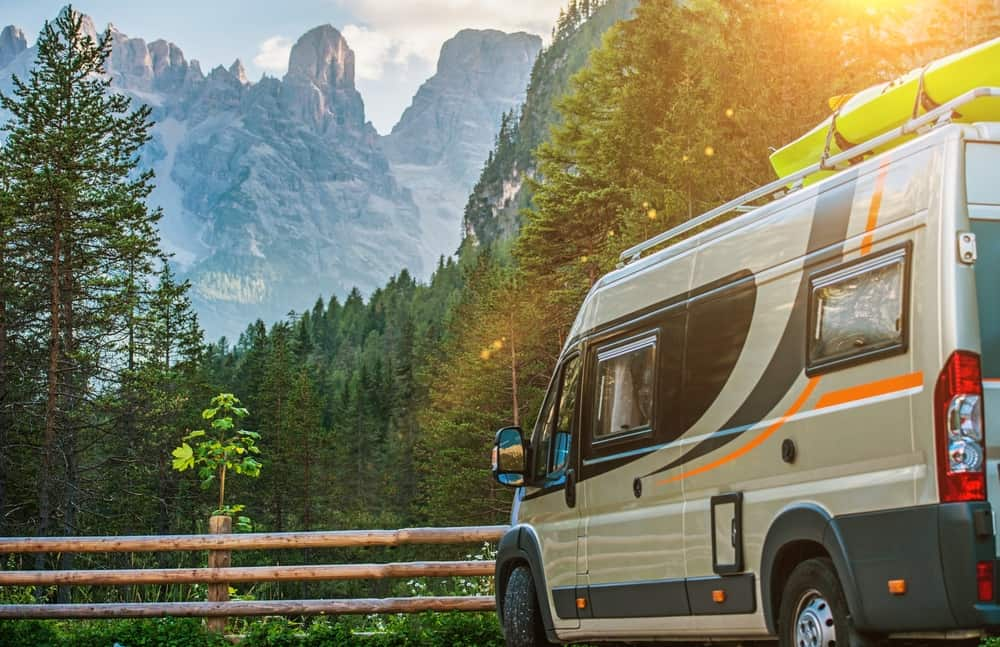 rv in national park campground