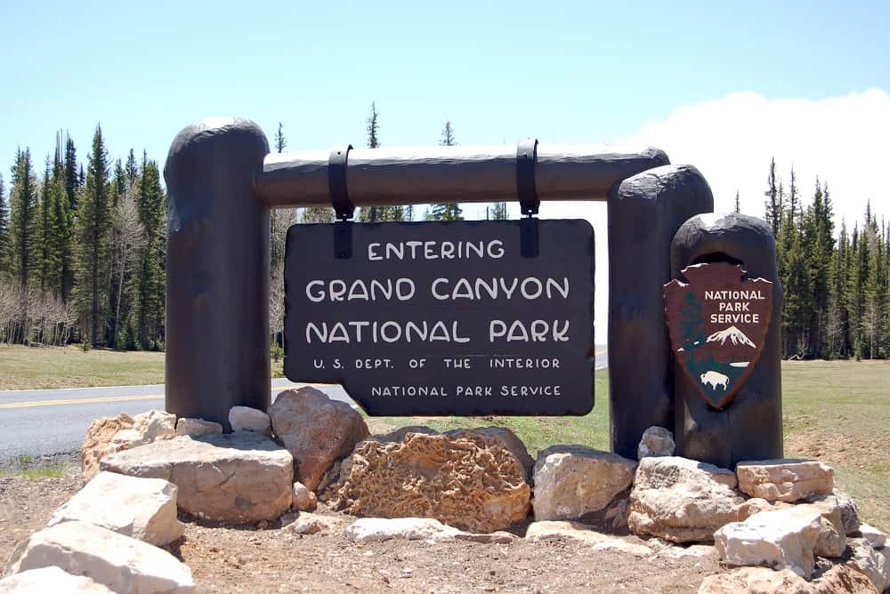 grand canyon np sign