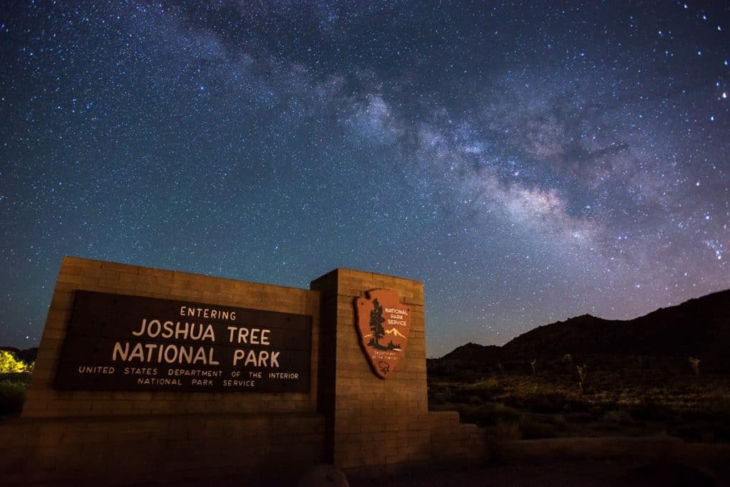 joshua tree np sign