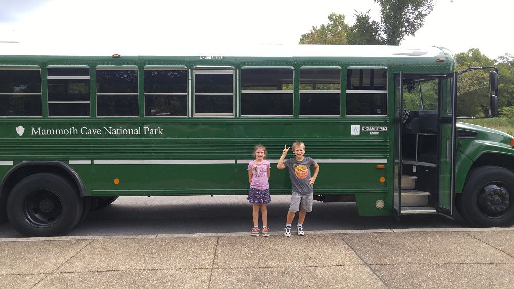 mammoth cave national park bus