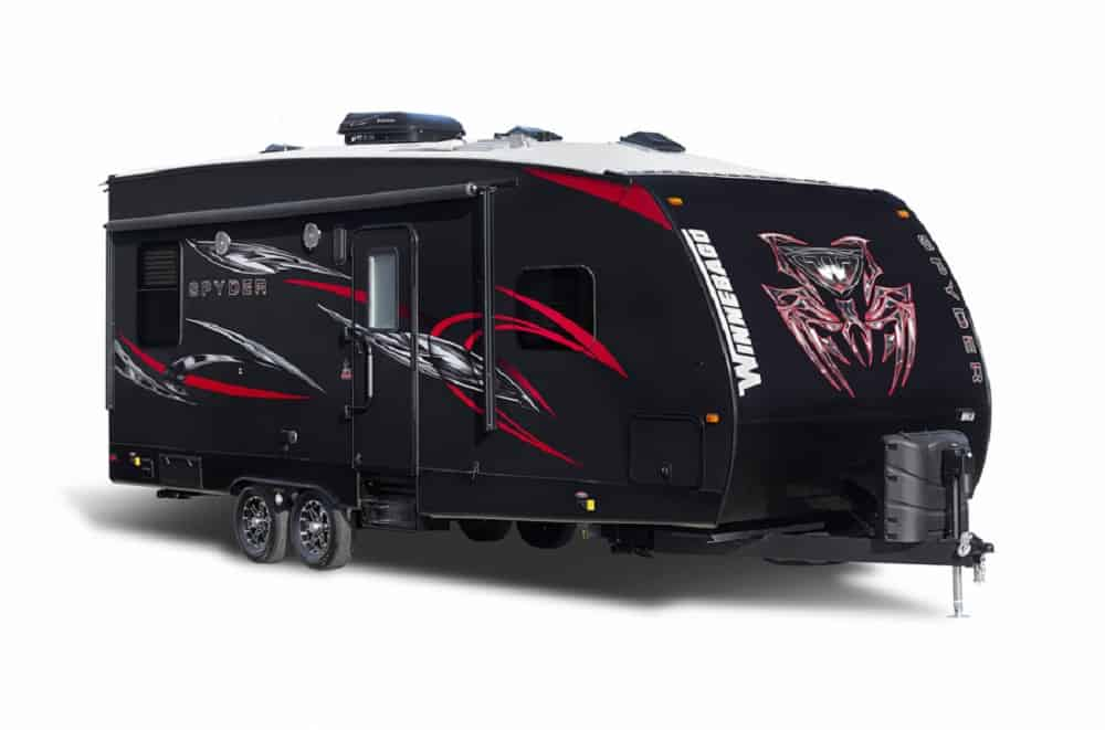 toy hauler travel trailer