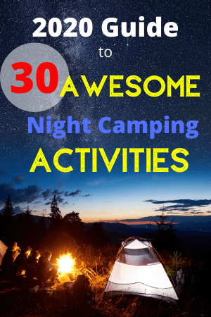 night camping activities