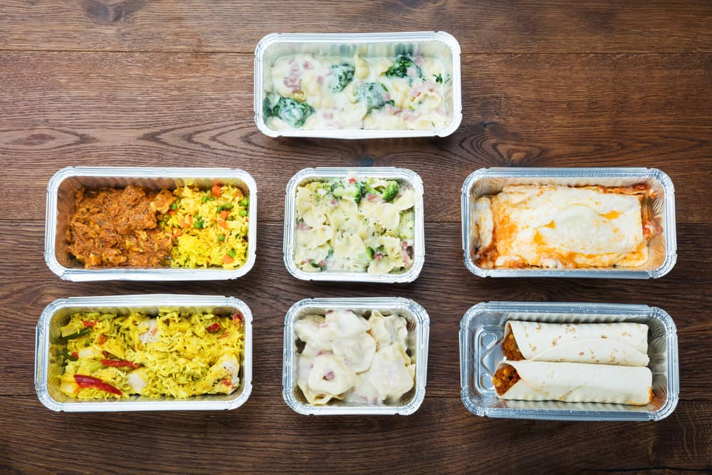 Camping meals made ahead