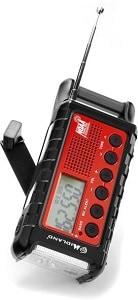 emergency crank radio camping gift