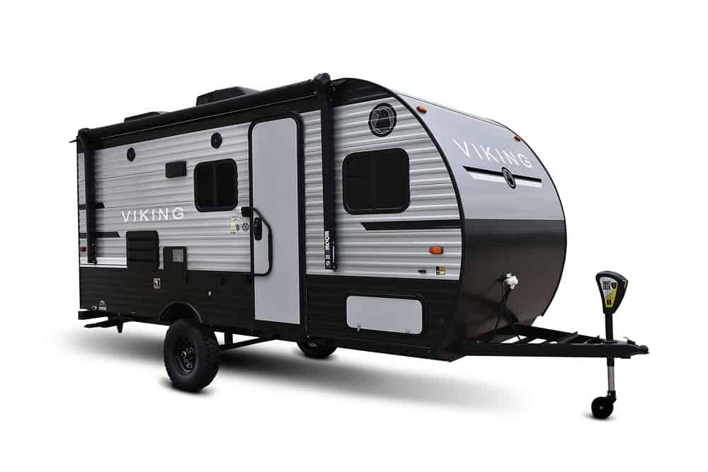 travel trailer with twin beds