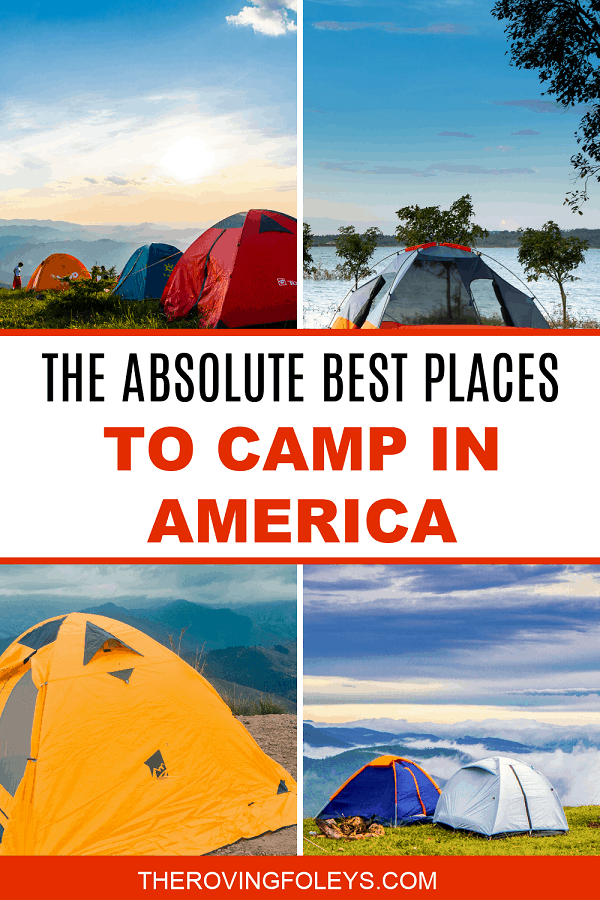 guide to the best camping places
