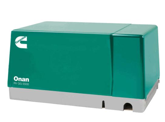 onan 5500 generator green cover