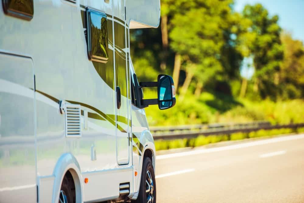 Traveling in Camper Van. Exploring the World in RV