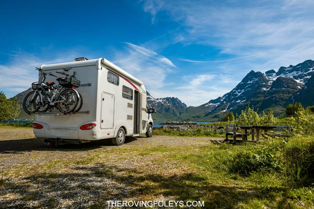 Family vacation trip on east coast of usa in an RV