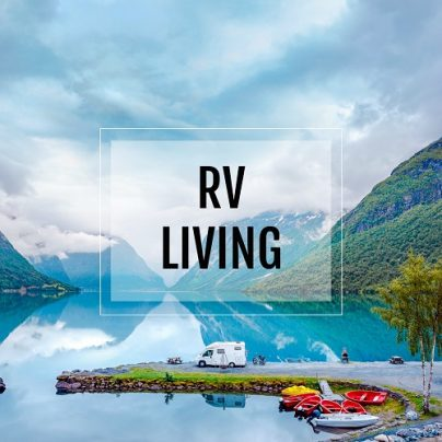 RV Living Button